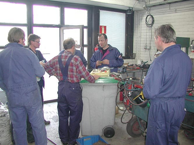 Savonlinna 18. - 21.4.2005, damascuskurssi